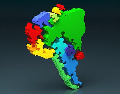 Jigsaw Countries
