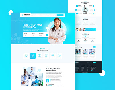 Medinova – Health & Medical Template
