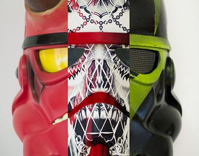 Custom Storm Trooper Helmets