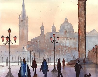 Wenecja - Piazzetta San Marco