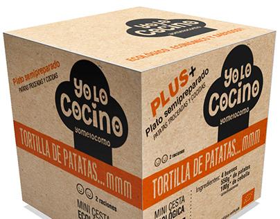 Diseño de packaging comida ecológica
