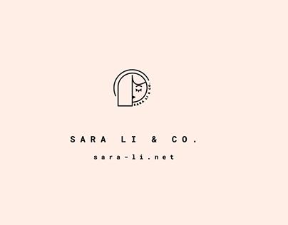 Sara Li & Co. Branding