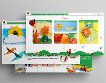Website Mockup Design / UI