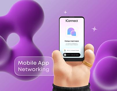 Mobile Ux Ui Networking (приложение для нетворкинга)