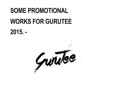 GuruTee Promotional Posters