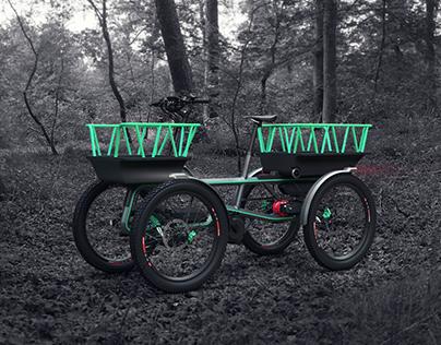 Q-CYCLE // Cargobike