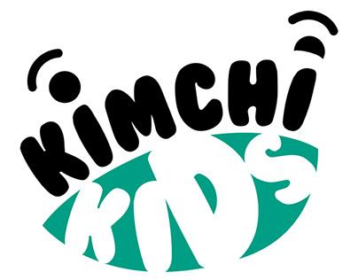 Kimchi Kids Clothing Branding