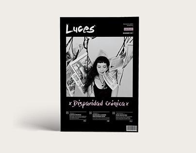 Revista Luces - Diseño editorial