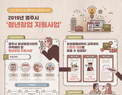 동양대학교 - 2019년 영주시 청년창업 지원사업 (2019)