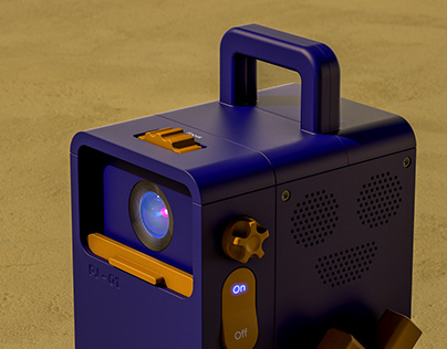 PJ-01 - Portable Projector Concept