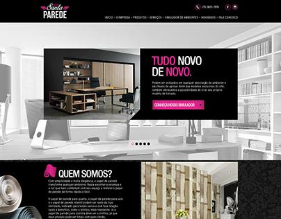 Santa Parede - Design da interface