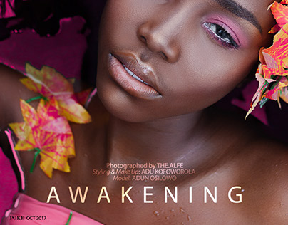 Awakening - Editorial for Poke Africa Magazine