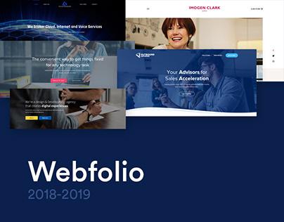 Webfolio 2018-2019