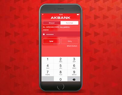 Akbank - Widget