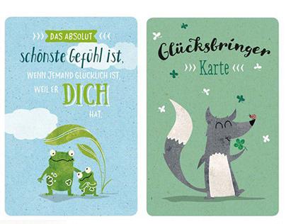 Goldbek Greeting Card Illustrations