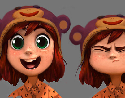 Wonder Park// expression sheet
