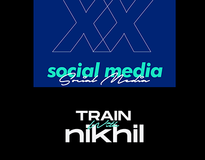 Train With Nikhil - Social Media Design & Branding