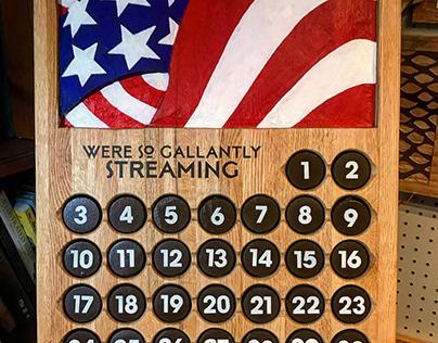 Patriotic Pertual Calendar