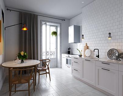 Scandinavian Kitchen - Stockholm