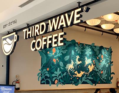 Third Wave Coffee   Mural
