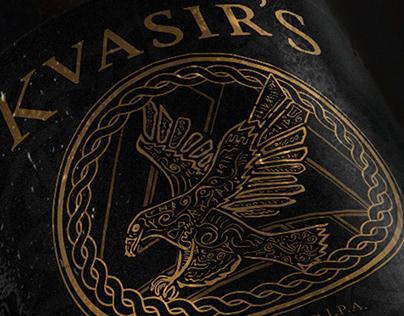 Kvasir's IPA: Label & Brand Development