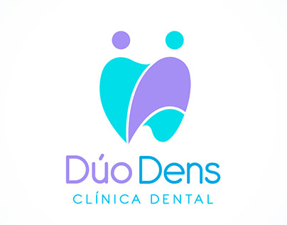 Logo design / Dúo Dens / Clínica Dental