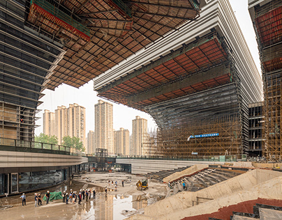 Changzhou Culture Center Under Construction