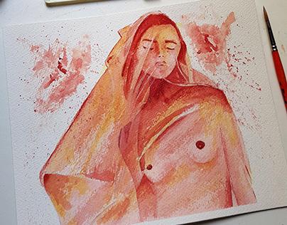 Veil Watercolor