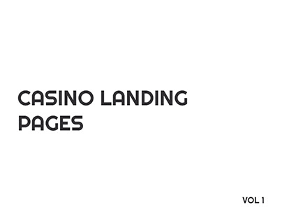 Casino Landing Pages (Web Design)