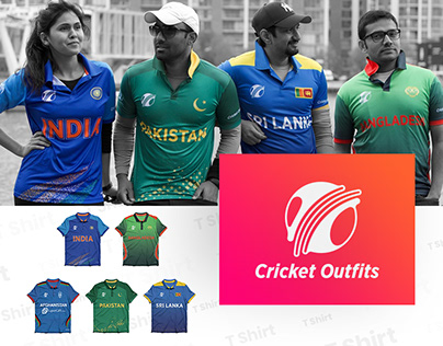 Cricket Outfits Branding