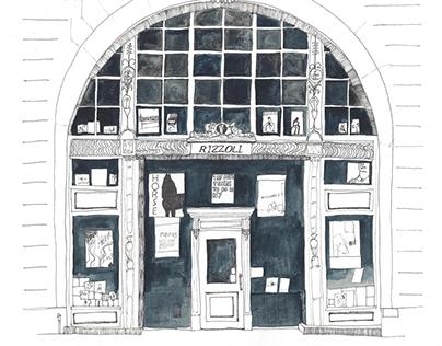 Rizzoli book store