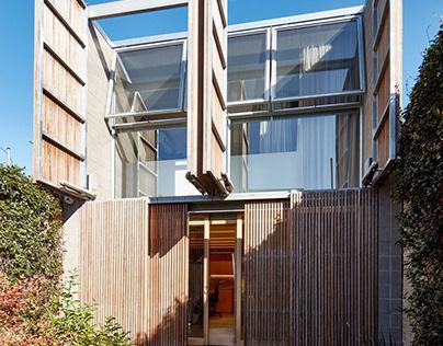 Rathdowne Street House by Robert Simeoni Architects