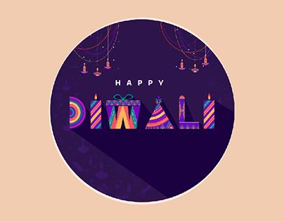Diwali Decorative Alphabet