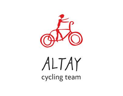 Логотип велокоманды Алтай