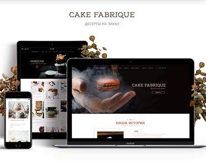 Redesign cakes shop