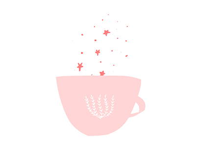 A Cup of Stars | Illustration
