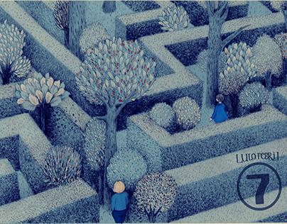 De la distancia y mis memorias. Estampillas.