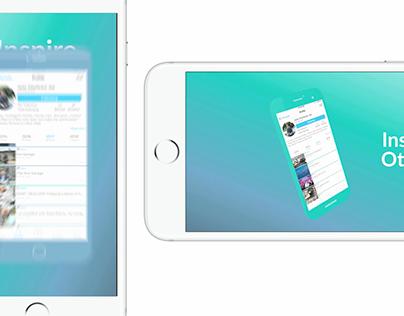 app demo vertical vs horizontal video