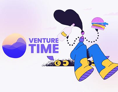 Venture Time/Travel Web App