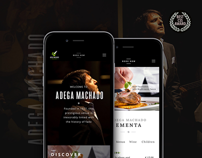 Adega Machado Website - Fado & Food Group