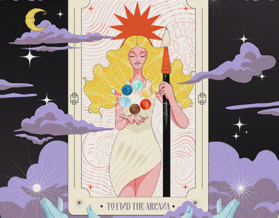 Ariena, The Lady in Tarot