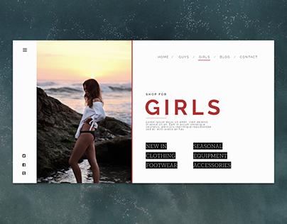 girls surf shop