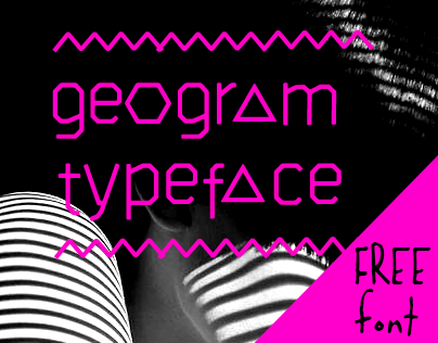 geogram typeface - free font
