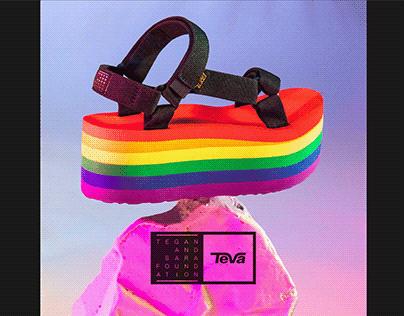 Teva Flatform Pride Sandal : Inline