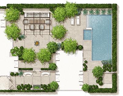 Garden Design Magazine - garden illustrations