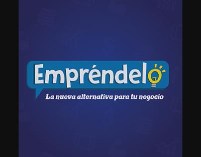 Diseño de Logo y Editor de Empréndelo