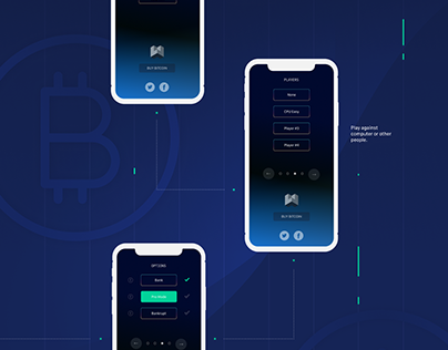 Crypto Trader Game – Redesign