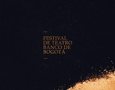 Festival de Teatro - Banco de Bogotá