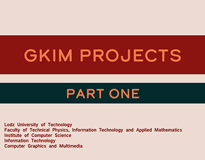 GKiM projects part 1