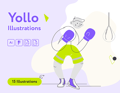 Yollo Sport Illustrations